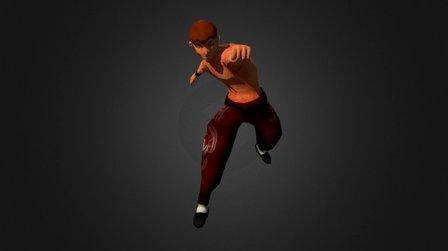 Karate Master 3D Model