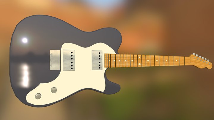 Fender Classic Telecaster (updated) 3D Model
