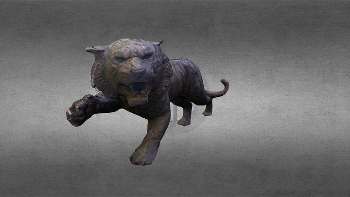 ISU Bengal Tiger 3D Model