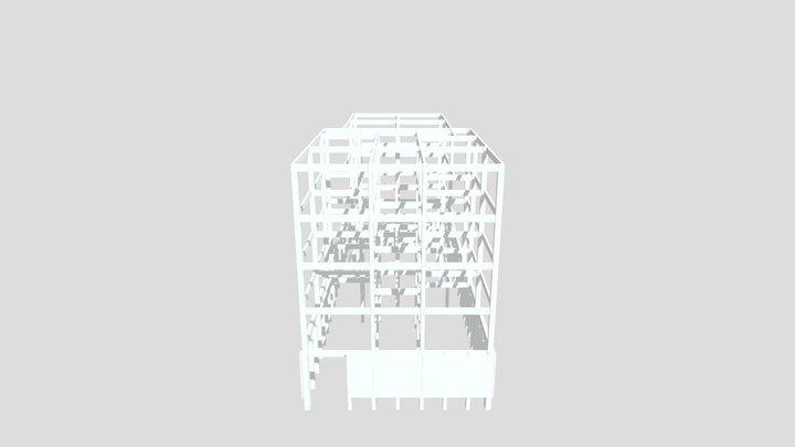 Projeto 05 pavimentos 3D Model