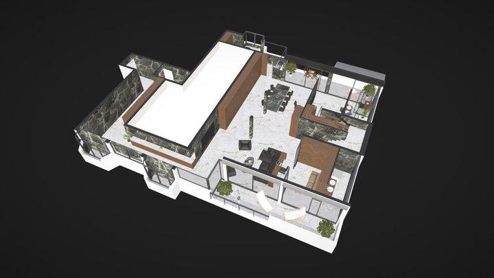Goldstar - Loft - Niveau 1 3D Model