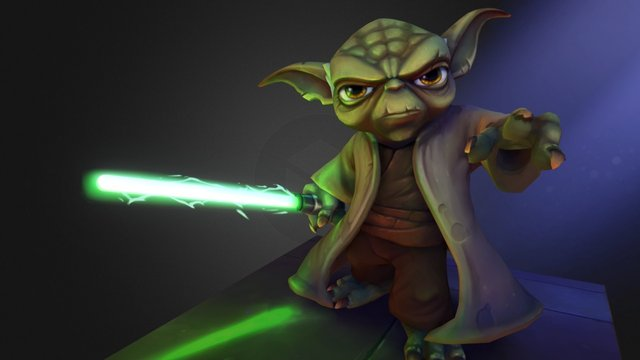 Feel the Force - Star Wars Contest Entry 2015 3D Model
