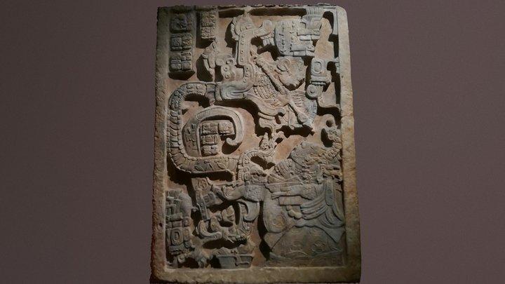 The Yaxchilan Lintels 3D Model