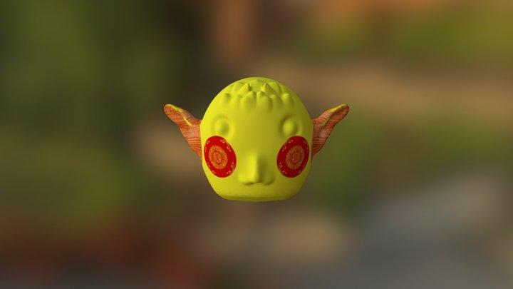 徐惠珠 3D Model