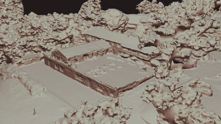 Domaine de Fragan 3D Model