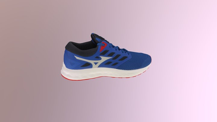 Mizuno Sport Shoe WAVE POLARIS EZ 3D Model