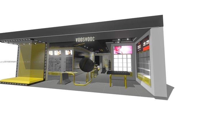 VOOS VOOC / OPITICAL STORE DESIGN 3D Model