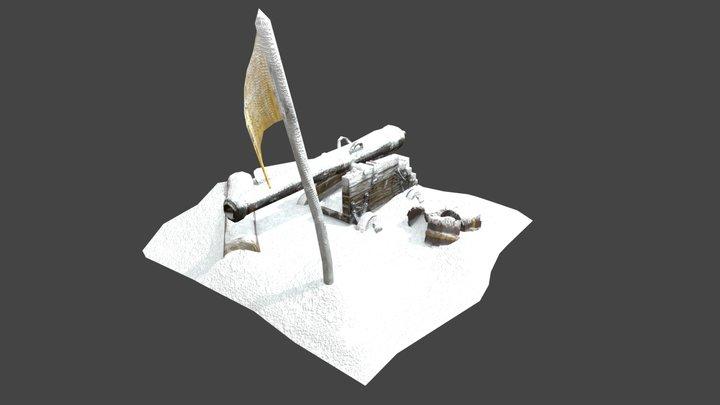 Winter Ambush 3D Model