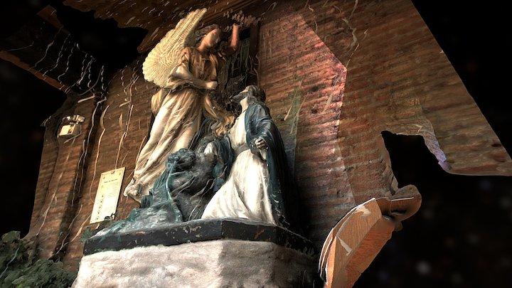 convento de las carmelitas descalzas, figura 3D Model