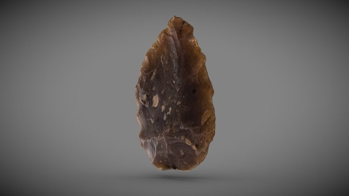 Lithic tool 2 3D Model