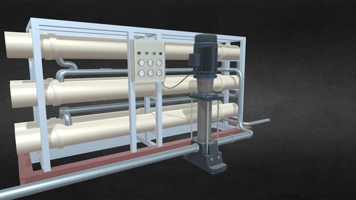 TDX0502 – RO Filtration Cycle 3D Model