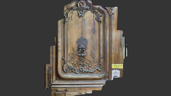 Door-19- Place- Tolozan- Lyon 3D Model
