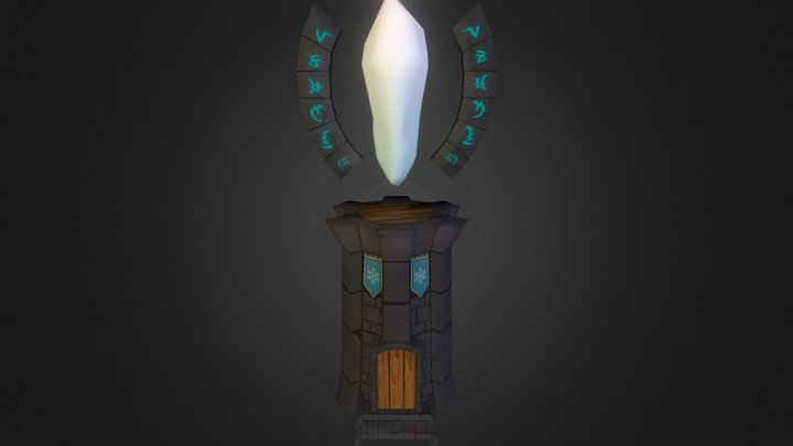 Ice Tower 3D Model