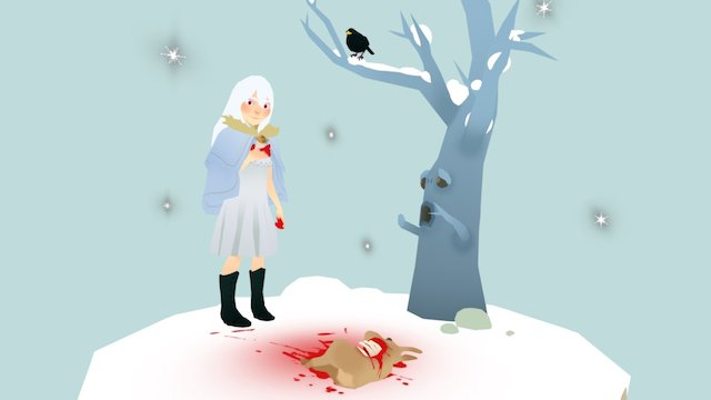 The White Witch 3D Model
