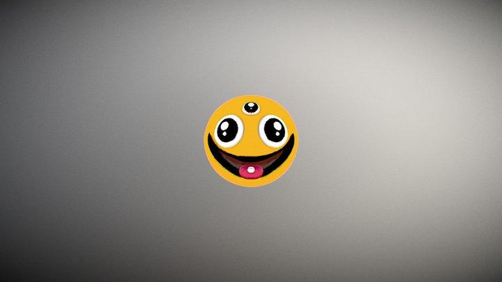 Emoji LSD 3D Model