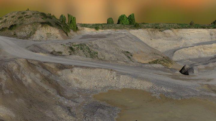 Kiesgrube 3D Model