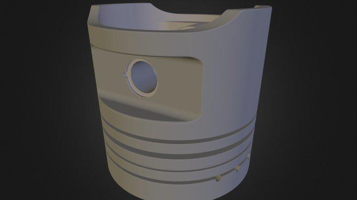 Pistão | Piston 3D Model