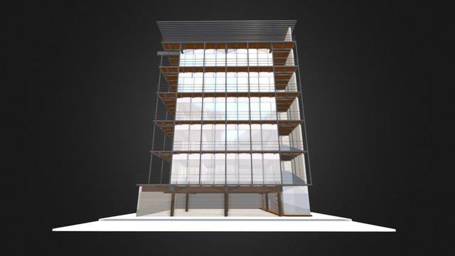 Dublín 25 / Central de Arquitectura 3D Model