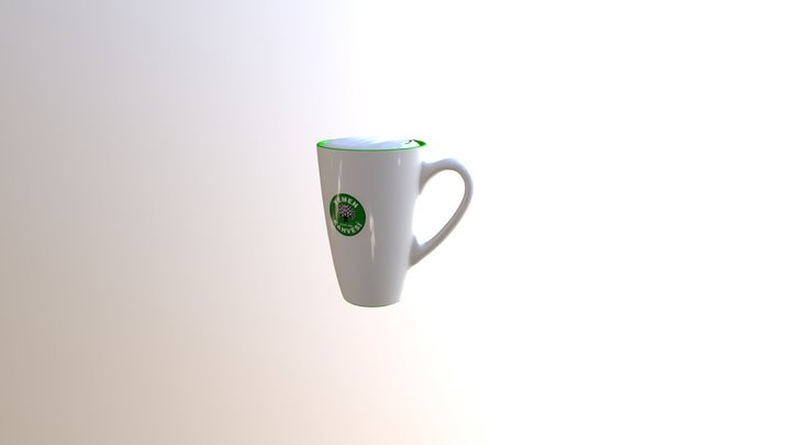 Cups Baked 3D Model