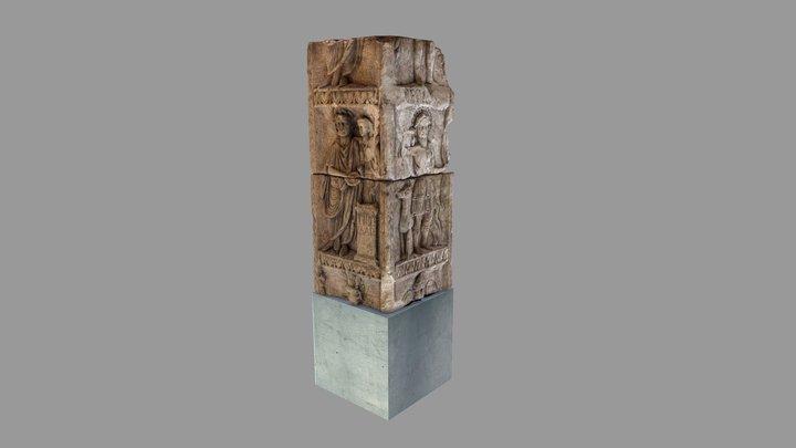 Godenpijler - Nijmegen in de Romeinse tijd 3D Model