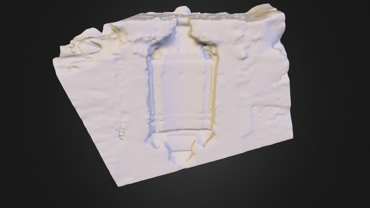 fuente muro 3D Model