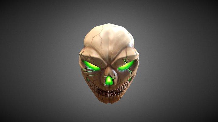 Skull - Low Poly 3D Model