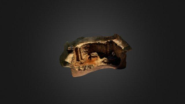 Absis Santa Cecilia Altimiris 3D Model
