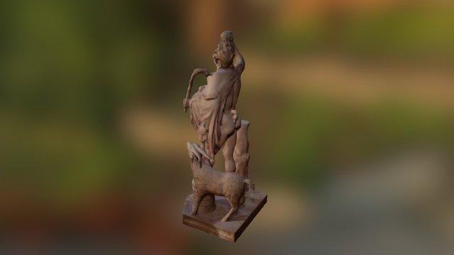 Red Faun 3D Model