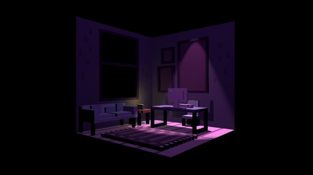 Room 1 3D Model
