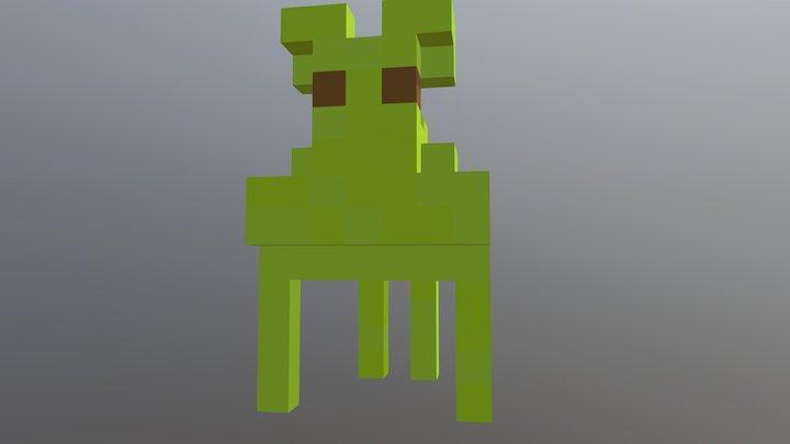 Ali Cuántico 3D Model
