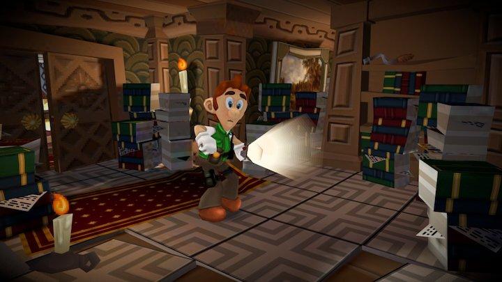 Luigi's Mansion x Resident Evil 3D Model