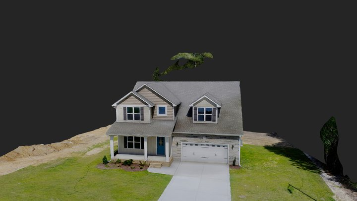3733 Glencourse Way, Fayetteville NC 28311 3D Model