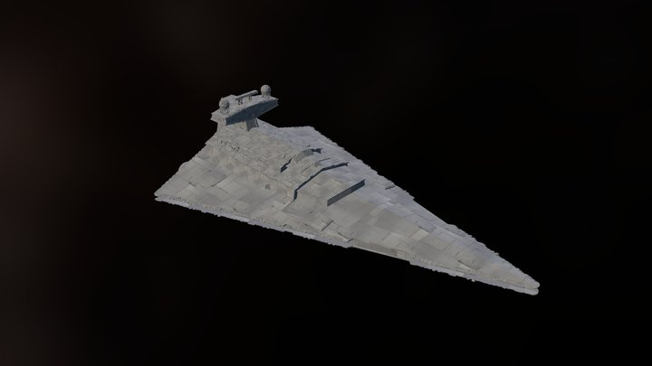 Imperial Star Destroyer [version 0.8] 3D Model