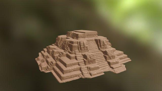 Uaxactun E7sub 3D Model