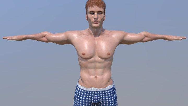 DAVID-CHARACTER 3D Model