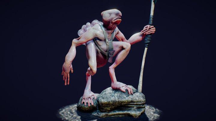 Troglobite 3D Model