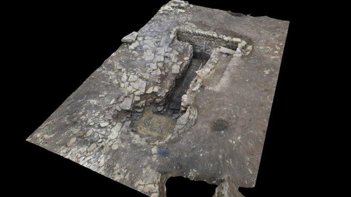 Roman corn or malt dryer 3D Model