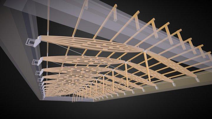 Yates Atrium 3D Model