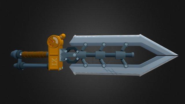 Garen Sword 3D Model