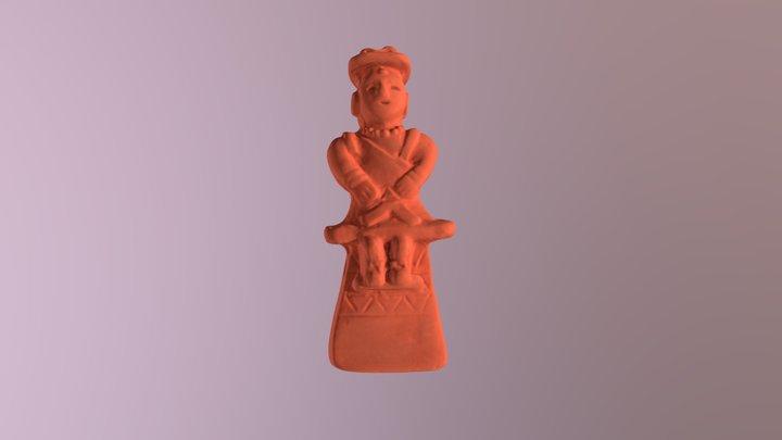 Haniwa Figure 3D Model