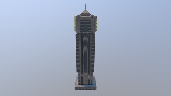 Marina Arcade Tower 9 3D Model
