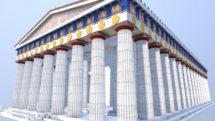 The Parthenon Rebuilt 3D Model