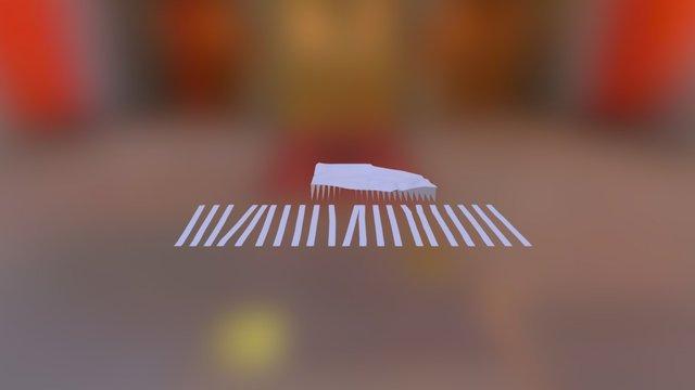 Topography Laser Cut 3D Model