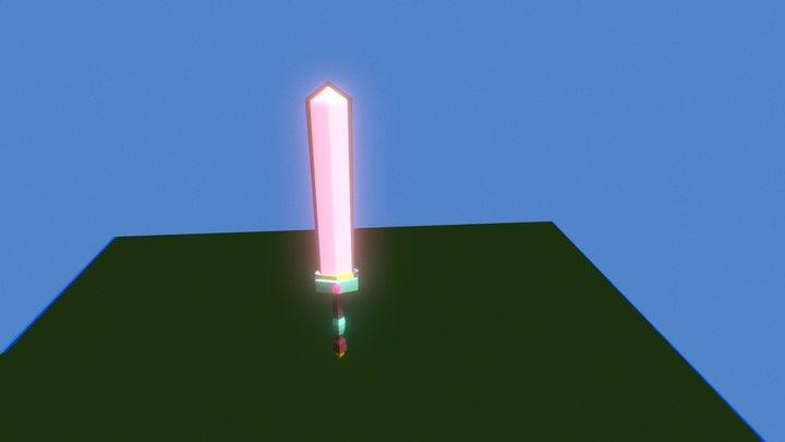 Sword Model 3D Model
