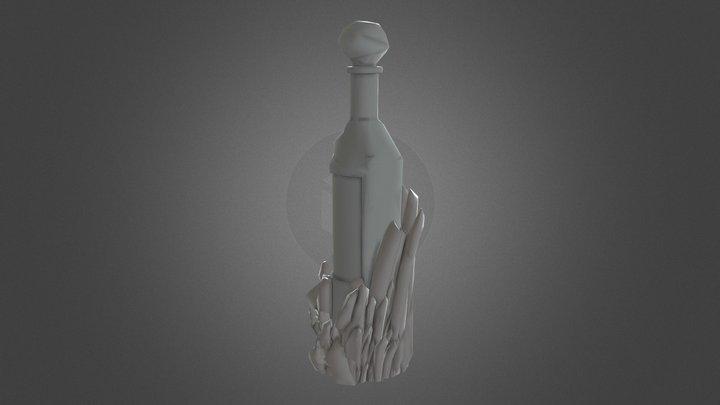 Бутылка 3D Model