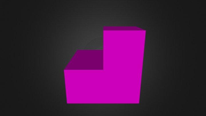 Pink Part 3D Model