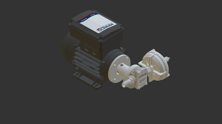 UP3/AC 3D Model