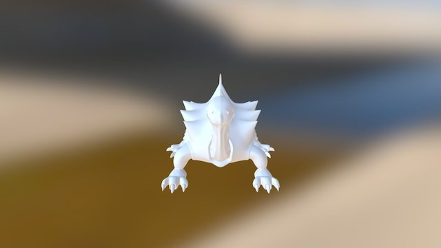 Alien pet 3D Model