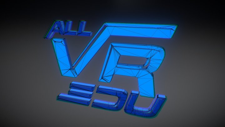 All VR Education 3D Model