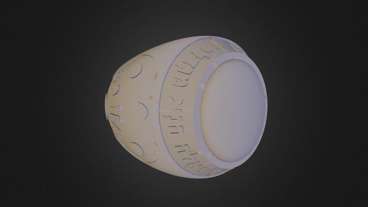 טבעת פוטבול דניאלה הניג 3D Model